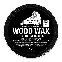 WALRUS 油 - 木蜡,907.18 克罐,FDA 食品*,砧板蜡和砧板奶油