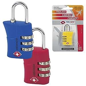 Merangue 旅行批准组合锁,12 个装 (1027-9511-00-000)