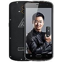 AGM X1移动联通电信4G全网通军工三防智能手机 双卡双待 超长待 顺丰包邮 (4G+64G, 黑色)