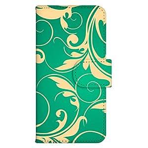 智能手机壳 手册式 对应全部机型 印刷手册 wn-015top 套 手册 浮雕图案 雕 洋气 时髦 UV印刷 壳WN-PR033169-S AQUOS PHONE ss 205SH 图案D