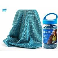 2KOOL 运动散热毛巾适用于运动,锻炼, yoga ,健身,健身房,普拉提,旅行,露营 & More