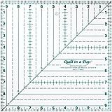 Quilt in a Day 24.13 cm x 24.13 cm 方形尺子 透明 1-包每包 1 条 2012