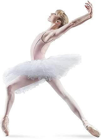 BLOCH Dance 女式 Belle Rehearsal 芭蕾舞短裙 白色 Petite/Small