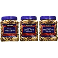 Signatures Kirkland 精致混合坚果,2.5 磅 3 Package (Fancy Mixed Nuts, 2.5 Lb) 3 Package (Fancy Mixed Nuts, 2.5 Pound)
