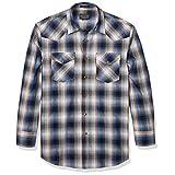 Pendleton 男式长袖前纽扣经典修身前襟衬衫