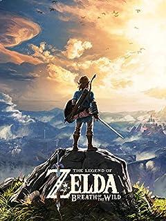 The Legend of Zelda 荒野-日落之息60 x 80cm帆布印花画,棉混纺,多种颜色,60 x 80 x 3.2 cm