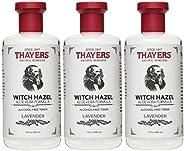 Thayer's:带有芦荟的巫毒,薰衣草爽肤水 12 盎司 3片装