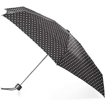 Totes Totes Titan Super Strong Mini Manual Umbrella Swiss Dots 均码