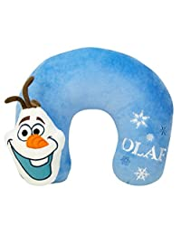 Disney Frozen Olaf 3D Velboa Neck Pillow