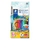 STAEDTLER施德楼 12色水溶性彩色铅笔144 10NC12