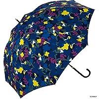 世界派对(Wpc.) 迪士尼雨伞 长柄伞 *蓝 58cm 女士 爱丽丝/花园 DS041-09 NV