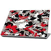 MightySkins 保护、耐用、独特的乙烯基贴花封套皮肤适用于 Microsoft Surface 笔记本电脑 (2017) 13.3 英寸MISURLAP-Red Camo Red Camo Microsoft Surface Laptop