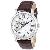 Seiko Men's SSA231 Silver Leather Japanese Quartz Fashion Watch