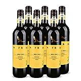 【亚马逊直采】Wolf Blass 纷赋 黄牌设拉子红葡萄酒750ml*6(亚马逊进口直采红酒,澳大利亚品牌)自营精选