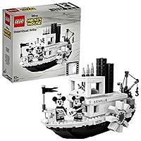 LEGO 乐高 创意系列 蒸汽船威利 迪士尼 21317 积木玩具