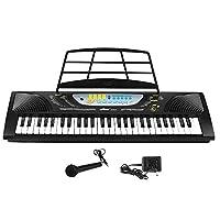 miles 美乐斯 54键多功能教学型电子琴早教音乐乐器 (54键多功能音乐电子琴 智能彩色教学键)