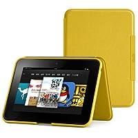 亚马逊Kindle Fire HD立式真皮保护套(只适用于第二代Kindle Fire HD), 蜂蜜黄
