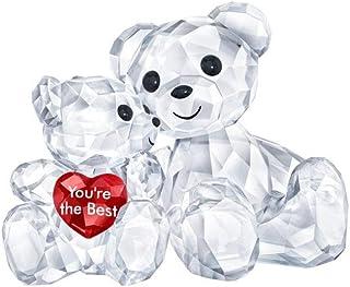 施华洛世奇克里斯熊 – You are the Best Figurine,水晶,多彩,浅 3.3 x 4.9 x 2.9 厘米