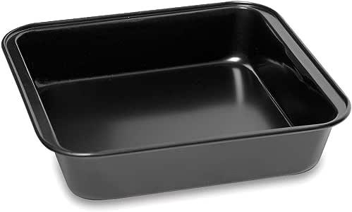 Topenca Supplies 制造的烤盘不粘铝 黑色 方形 TS-31057