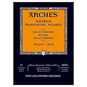Arches 水彩积木,木,白色