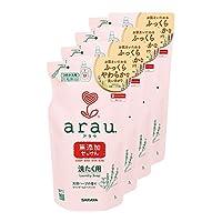 arau 洗衣液 肥皂 替換裝 1升×4個套裝