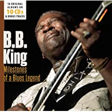 进口CD:比比金:10张原版专辑 蓝调传奇的里程碑 B.B.King:10 Original Albums/Milestones of a/Blues Legend(10CD) 600267