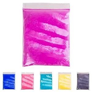 20 克温度激活颜料粉 - 热敏变色粉末 适用于黏胶、油漆、树脂、环氧、*油、油墨、丝网印刷、织物艺术、陶瓷铸造 紫红色 01