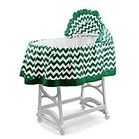aBaby 雪佛龙短款摇篮裙,绿色,L 码