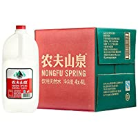 农夫山泉 饮用天然水4L*4桶 整箱