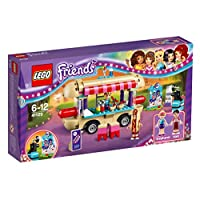LEGO 乐高 Friends 系列 游乐场流动热狗车 41129 6-12岁 积木玩具
