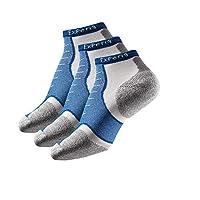 Thorlos Experia 多运动薄衬垫低帮袜 3 双装