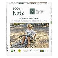 Eco by Naty 优质一次性纸尿裤,适合敏感肌肤 Size 5 14.68278666252
