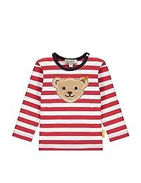 Steiff 男宝宝带甜美泰迪熊装饰T恤 长袖