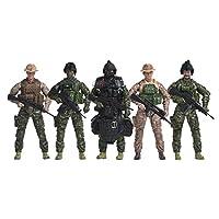 Elite Force *海豹可动公仔 5 件套,附赠光环跳线