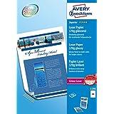 Avery Zweckform 1298 相纸 A4 可打印 170 克 彩色激光打印机 200 张装