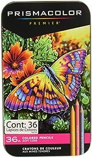 Prismacolor 92885T Premier彩色铅笔,软芯,36件