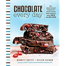 Chocolate Every Day: 85+ Plant-based Recipes for Cacao Treats that Support Your Health and Well-being (English Edition)