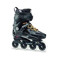 Rollerblade 罗勒布雷德 轮滑鞋 成人街区轮滑鞋 TWISTER 80 270 黑色(橘黄色鞋带) 42