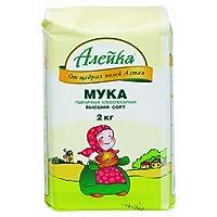 Aieuka艾利客小麦粉2kg(俄罗斯进口)