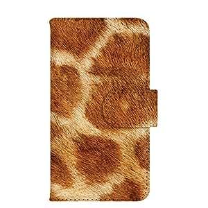 智能手机壳 手册式 对应全部机型 印刷手册 wn-008top 套 手册 动物 毛皮 UV印刷 壳WN-PR054205-ML AQUOS SH-M02 B款