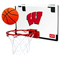 Rawlings NCAA 比赛用聚碳酸酯篮筐套装(所有团队选项) 红色 青少年