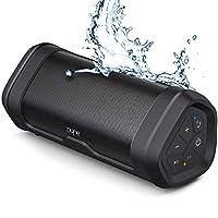NYNE Boost 便攜式藍牙揚聲器帶優質立體聲 - IP67 防水防塵,20 小時播放時間,100 英尺范圍,內置移動電源和麥克風,真正的無線立體聲,音響無線揚聲器