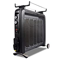 GREE 格力 家用硅晶电热膜电暖气取暖器电暖器NDYC-25C-WG 2500W大功率喷雾加湿 厂家直发(亚马逊自营商品, 由供应商配送)