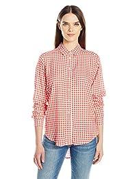 天鹅绒 Graham & spencer 女式格子纽扣衬衫
