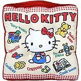 丸真 坐垫 三丽鸥 凯蒂猫 H30×W30×D5cm 玩具猫 3065007200