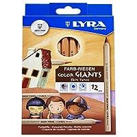 LYRA 颜色 giants 自然 colouring 铅笔,各种