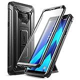 三星 Galaxy Note 9 手机壳,SUPCASE 全包坚固皮套带内置屏幕保护膜和支架适用于 Galaxy Note 9(2018 版),Unicorn Beetle Pro 系列 - 零售包装 黑色