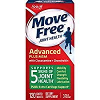 Schiff Move Free 氨糖維骨力氨糖軟骨素 添加MSM 綠瓶 120粒