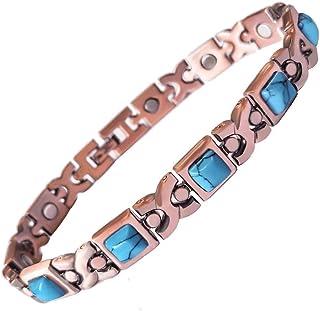 PROEXL 维也纳铜磁性手链,缓解*和关节*,腕管和*