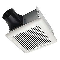 Broan AE110 Invent Energy Star 合格单速通风风扇 白色 50 CFM 0.5 Sones AE50 需配变压器
